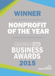 Business Award WinnerMedallion_Nonprofit
