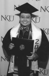 Nayeli Giron Graduates BW (2)