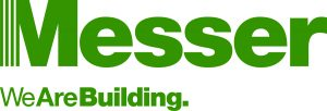 Messer WeAreBuilding Logo Green Pantone